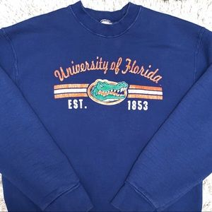 Vtg Fruit Of The Loom Florida Gators Sweatshirt LG
